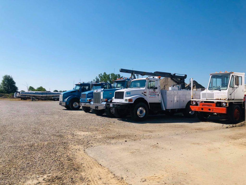 The truck yard